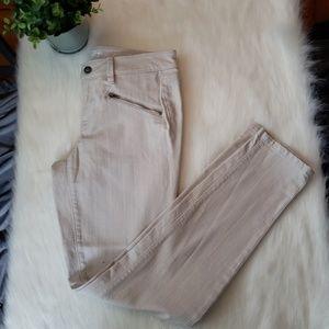 LOFT Modern Skinny Khakis